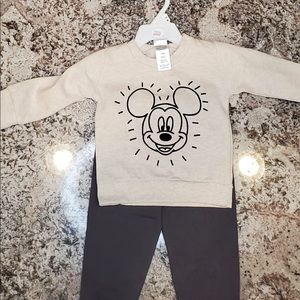 Disney baby 2 piece set outfit size 12 months